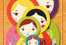Matryoshka doll / by ThatsITMommy