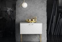 Material: Brass & Copper / The two metals that are currently defining contemporary interiors.
