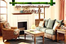 JOIN OUR WICKER CLUB FOR MORE SAVINGS! / As a Wicker Club member you have access to special members only discounts and other useful information regarding tropical furniture.
