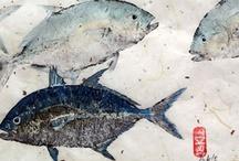Gyotaku / Fish prints