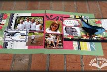 Projects using Templates / These are class projects from over the years using pop-up templates I designed / by Karen Burniston