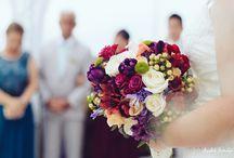 Casamento na Praia Colorido / Decoração de casamentos na Praia Coloridas e Alegre da Beach Flowers Eventos