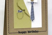 Masculine card