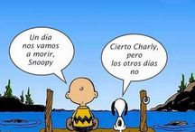 Snoopy y Mafalda