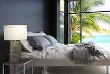 BOYD in Bedrooms / See Boyd Lighting fixtures in bedrooms.