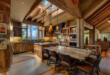 Great Ski & Snowboard Vacation Rentals / Beautiful luxury vacation rental homes close to Tahoe's ski resorts, great for families, or situated in a ski-in/ski-out location