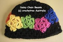 Crochet -baby and kids hats - free 8