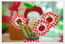 Apple Classroom Theme / by Schoolgirl Style www.schoolgirlstyle.com