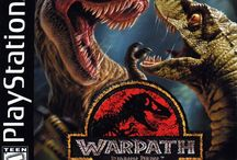Jurassic Park Warpath / A Playstation Beat em up game featuring Prehistoric behemoths that fight for their survival. It's a well executed and well balanced game but most importantly , you know , dinosaurs.