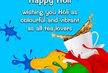 #Holi / Happy Holi...!