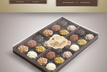 ChocoAtelier Brigadeiro Goumet / Criação de Logotipo, Cartão de Visita, Papel de Carta, Envelope, Adesivos, Folder de produtos de Páscoa e Catálogos com todos os sabores dos produtos.