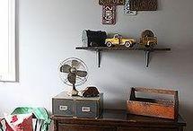 Carter's Room / Vintage Planes, Trains, & Automobiles