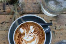Coffee / #coffee #coffeelovers #coffetime #cappuccino #latte #flatwhite #espresso #breakfast