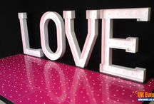 Pink Starlit Dance Floors / Our beautiful LED Starlit Dance Floors bring a focal point to any function room, instantly giving your event that 'wow' factor.