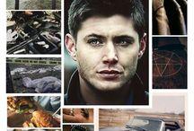 """SPN objets / spéciale Supernatural objet ou produits dérivés de la série """"Supernatural""""/""""Ten inch héro""""le film/""""Scoobynatural"""".Pour les fans chasseuses et chasseurs.Miss Dean.❤"""