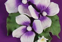 Gumpaste flowers / by Joan Mclain