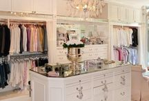 Closets & Dressers / Aaah a womens haven. This is a board for closets and dressers. Who does'nt love taking a peek? I am fascinated with wardrobe and closet arrangements so have selected and repinned the most fabulous and dainty dressers and closets around.