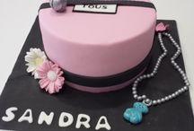 Tartas variadas / Repostería Creativa. Diseño de tartas, cupcakes, galletas... personalizado para todos los eventos. www.galletasycupcakes.es