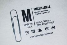 Tshirt inside labels