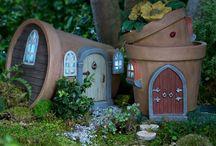 maisons pour mini jardin