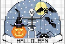 Point de croix Halloween