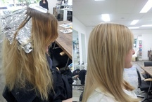 before and after / by THE GALLERY OF HAIR