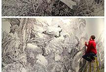Mural-work