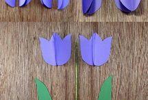 Basteln Tulpen