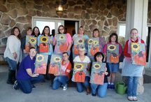 Paint and Sip Parties / Throughout the year we hold various events at the lodge. This board is dedicated to our paint and sip parties.