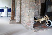 MoreFloors - Semi granito vloer aangebracht in gemoderniseerde woonboerderij te Best / MoreFloors Semi granito vloer, extra fijne troffel- grind vloer geleverd door MoreFloors vloeren Breda