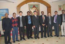 Shanghai University Delegates Visit at @MeriCollege campus
