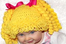 Crochet beanies / All kinds of beanies - adult to babies
