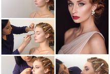 Vintage Glam bridal makeup / Bridal makeup for a bride who wants a vintage glam look on her wedding day. Hair and makeup by Brisbane Beauty Canvas
