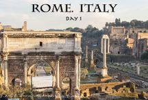 Travel: Rome, Italy / Tips, tricks, itineraries, budgets, photos, for traveling to and around Rome, Italy