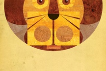 posters and illustrations / by Irene Petts