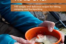 TRAIL CHEF COOKBOOKS / series of cookbooks with recipes for camping, hiking and backpacking