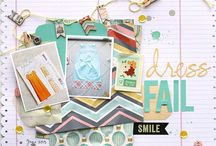 Scrapbooking layout / Some inspiration for your gorgeous layout for those precious pictures.