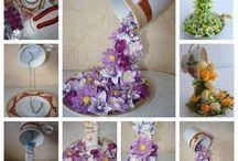 cascata di fiori