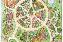 garden designs drawn