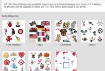 Stock Designs / Embroidery Stock Designs, available on http://www.gs-ukdirect.com/151-stock-designs