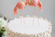 Flamingo white&pink