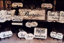 Personalized Wedding Sign Collection