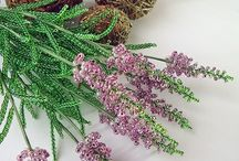 Beaded Flowers/Цветы из бисера / Beaded Flowers handmade