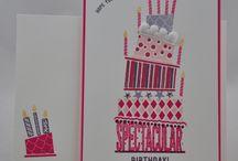 Meine Geburtstagskarten