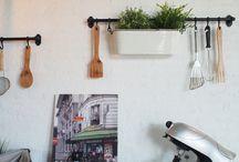 café idea / the idea of decoration my going-to-be café
