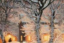 beautiful winter/Christmas