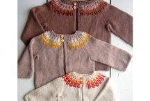 Tricot pour les enfants / Enfants tricot