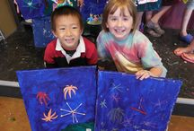 Kid's Summer Art Camp / Pinot's Palette has summer fun for kids all summer long! Kids will make paint, build, and craft new art projects every day.