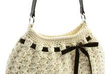 tašky-háčkované