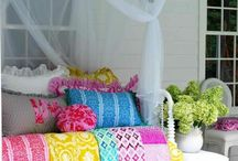 "Colourful Home / Colors give me inspiration! Love to mix  color palettes to create  a  "" Home sweet Home"""